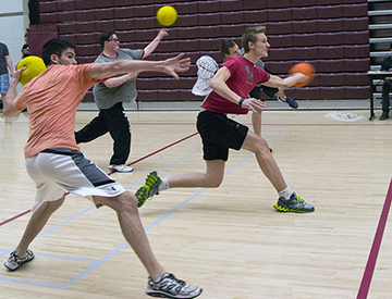 League Live to Play Dodgeball Image
