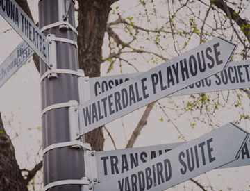 Arts and Cultural Management Walterdale Playhouse Yardbird Suite Transalta Arts