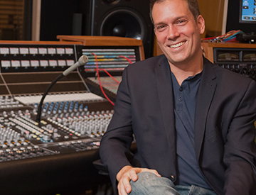 Paul Johnston, Assistant Professor and Head of Recording, Department of Music