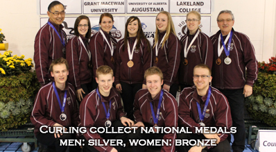 Curling national medals SandB