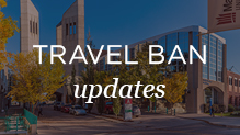 University response to US travel ban