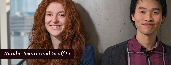Natalis Beattie and Geoff Li Profile Image
