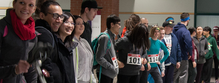 MacEwan Sustainability event: Earth Hour Race