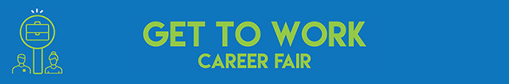 Career Fair banner.