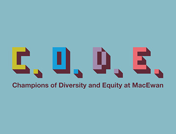 CODE - Champions of Diversity and Equity at MacEwan