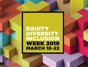OHRDE Equity, Diversity and Inclusion Week feature image with dates