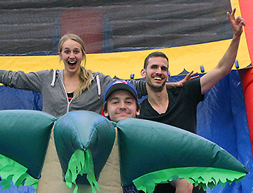 Sport and Wellness Special Events Feature Image Photo of People in Bouncy Castle