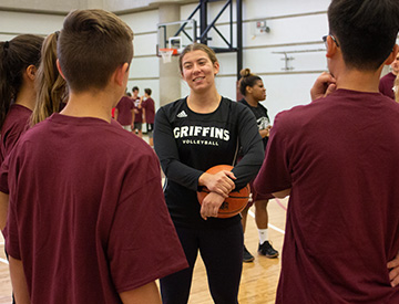 Sport and Wellness Recreation Youth Camps Feature Image Photo of Volleyball Player